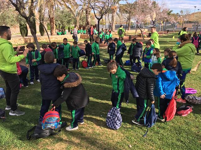 Miniolimpiadas en L'Eliana