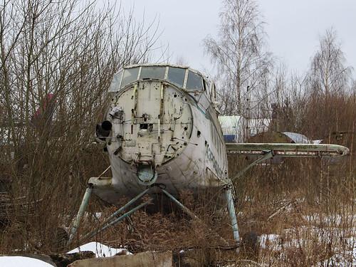 CCCP-32418 AN-2 Riga-Skulte 10-03-18