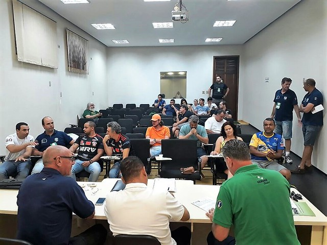 2018 - PR LIVRE E PR SUB18 - REUNIÃO TÉCNICA