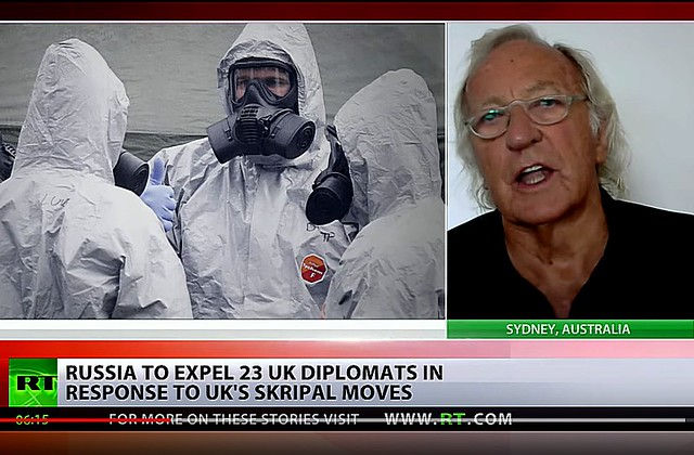 John Pilger: There Is No Evidence! It's A Propaganda Campaign!