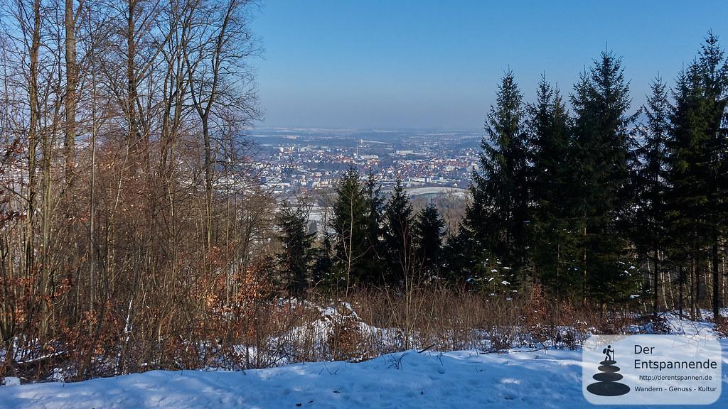 Wandern Schwäbische Alb: Blick auf Aalen