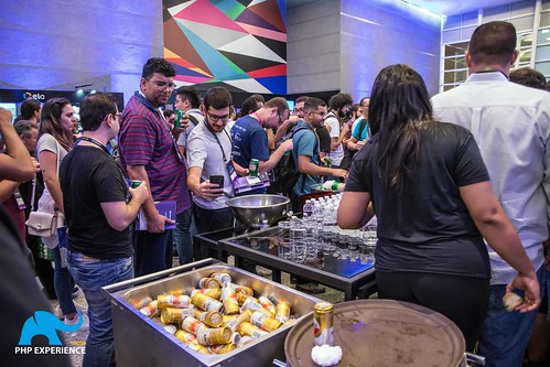 Salão de negócios e networking - iMasters PHP Experience 2018