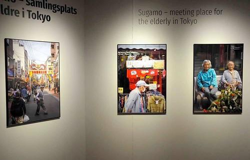 Sumago är en samlingsplats för äldre i Tokyo