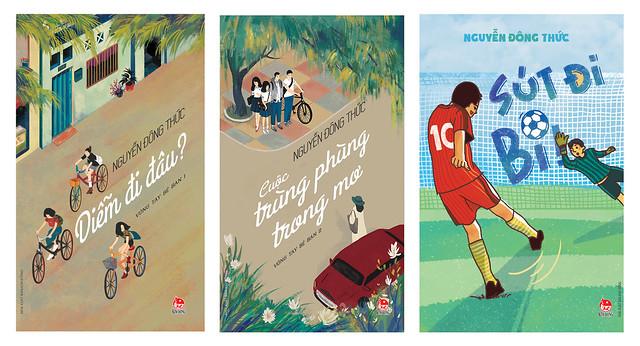 Bộ 2 cuốn của NV Nguyễn Đông Thức