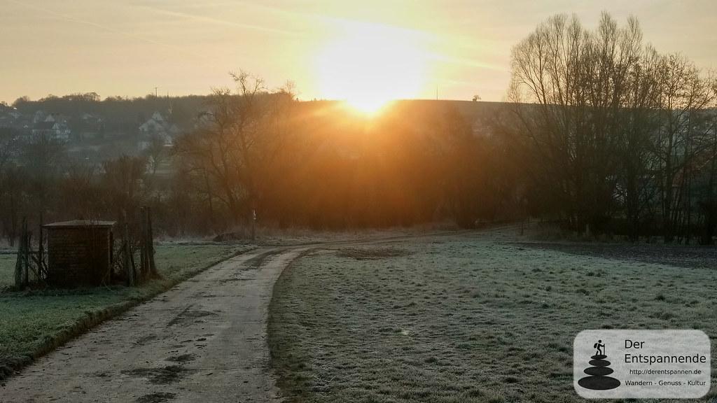 Sonnenaufgang über Sörgenloch
