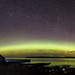 Aurora Panorama at Dunnet Bay