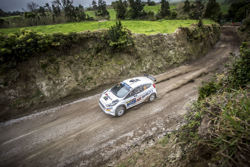 25 KOLTUN Jaroslaw (pol), PLESKOT Ireneusz (pol), FORD FIESTA R5, action during the 2018 European Rally Championship ERC Azores rally,  from March 22 to 24, at Ponta Delgada Portugal - Photo Gregory Lenormand / DPPI