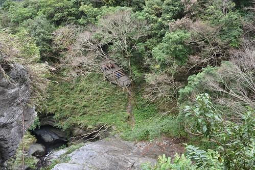 瓦拉米步道-山風瀑布觀景台