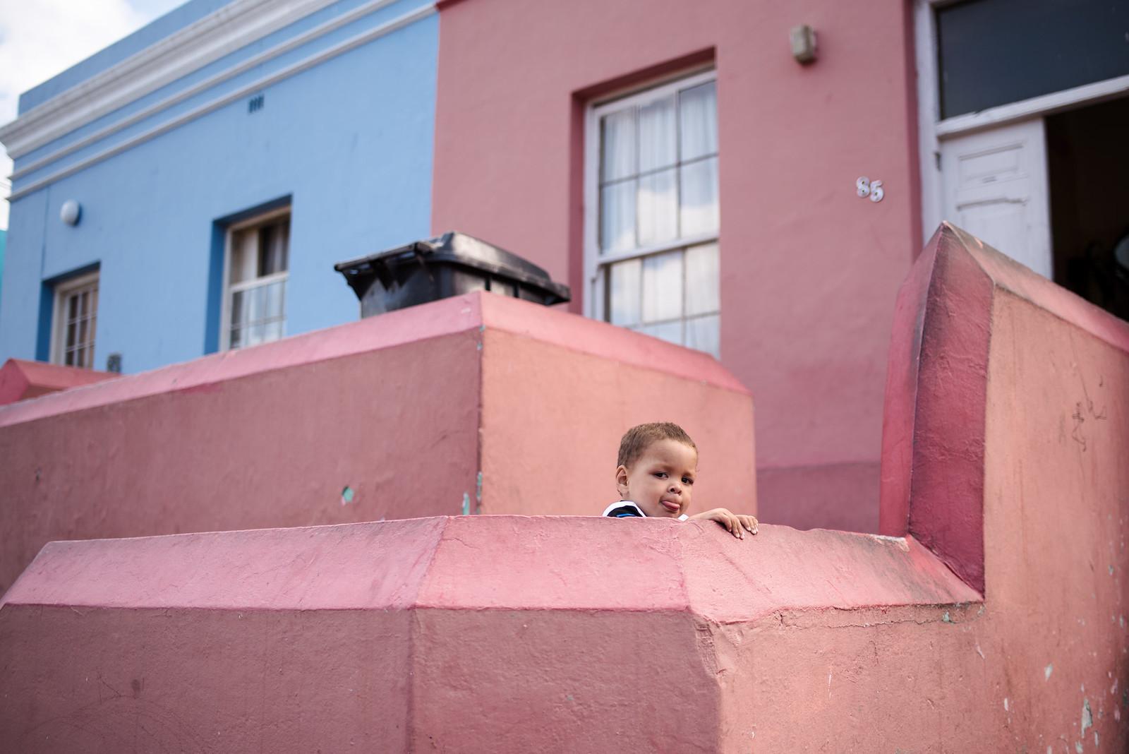 Child in Bo-Kaap Cape Town on juliettelaura.blogspot.com