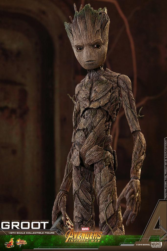 Hot Toys - MMS475 - 《復仇者聯盟:無限之戰》 1/6 比例 格魯特 Avengers: Infinity War Groot