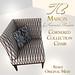TB Maison Corner Collection Chair