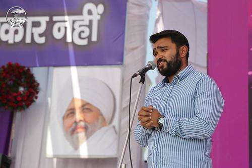 Aman Anand from Yamuna Nagar, expresses his views