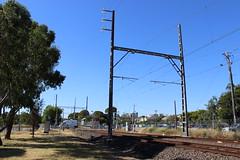 Train line, Thornbury