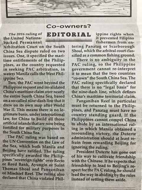 Philippine Star editorial,  Co-owners