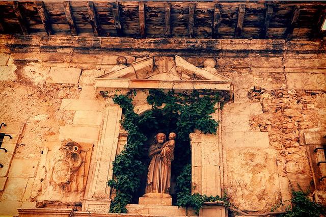 Fachada del antiguo colegio de San José en #cuenca #monumento #arte #cultura
