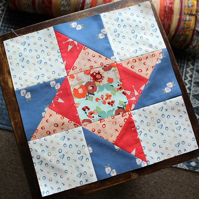 Community Sampler Ribbon Star