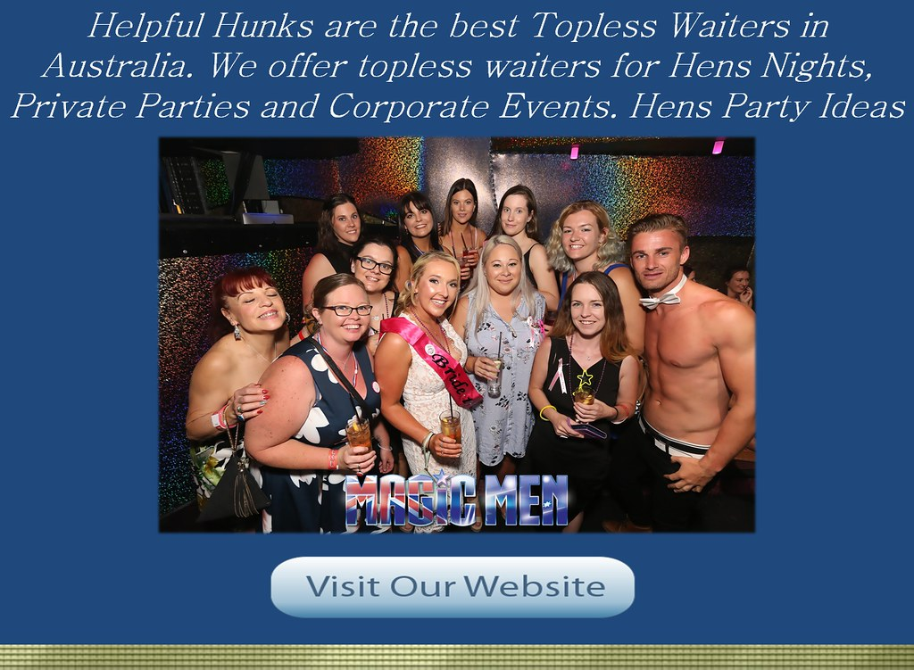 Picking the Right Topless Waiters Near Melbourne