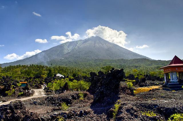 Volcán Gamalama, Ternate
