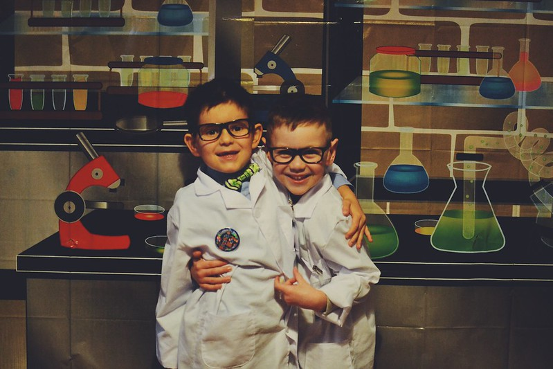 best buds science party