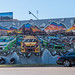 Benalla's motorsport mural