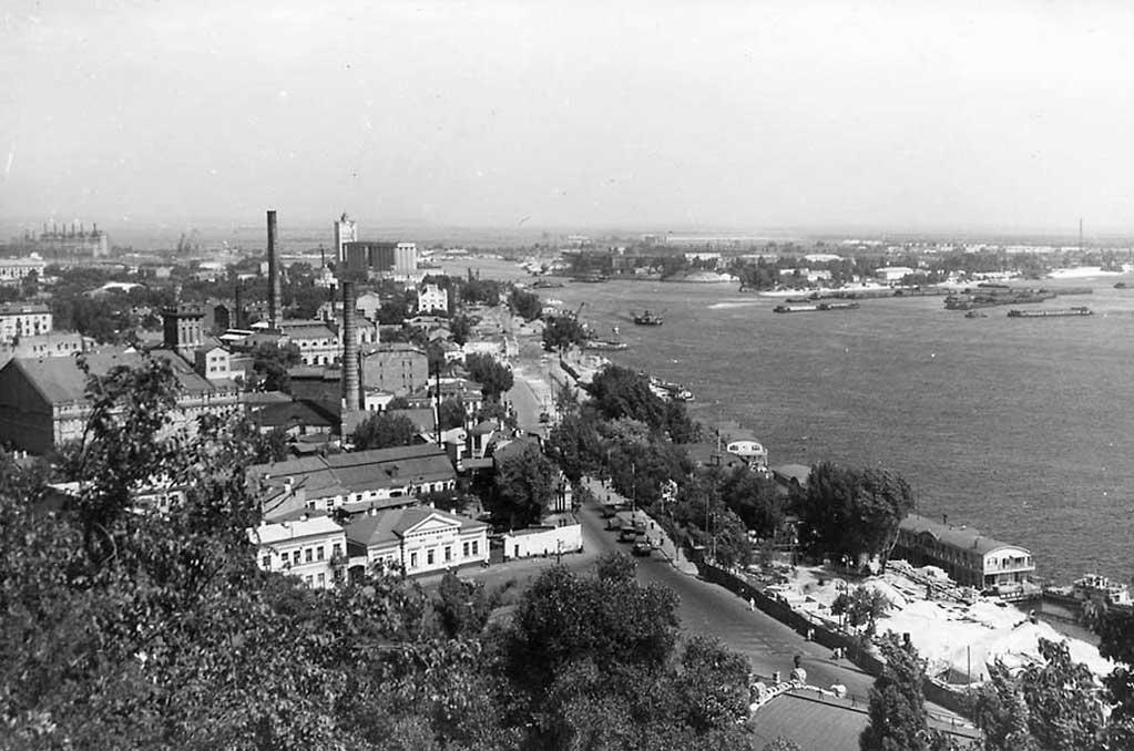 Панорама Днепра, 1958 год