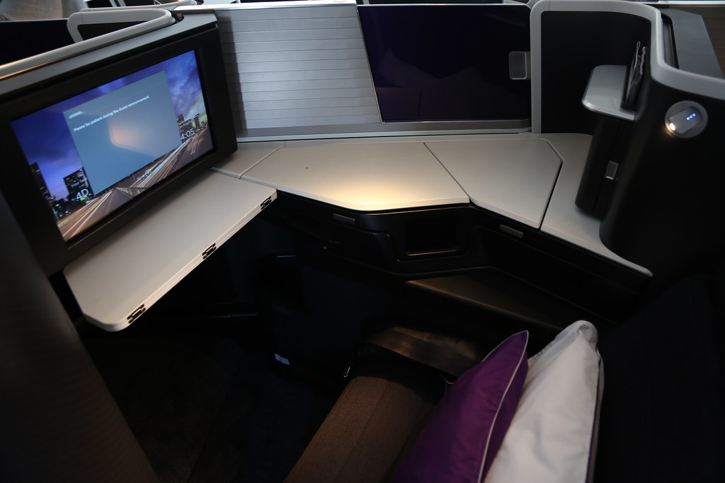 Virgin Australia business class 26