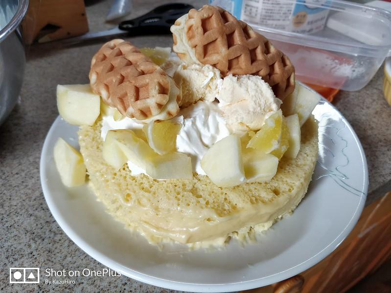 手作りパンケーキ (6)