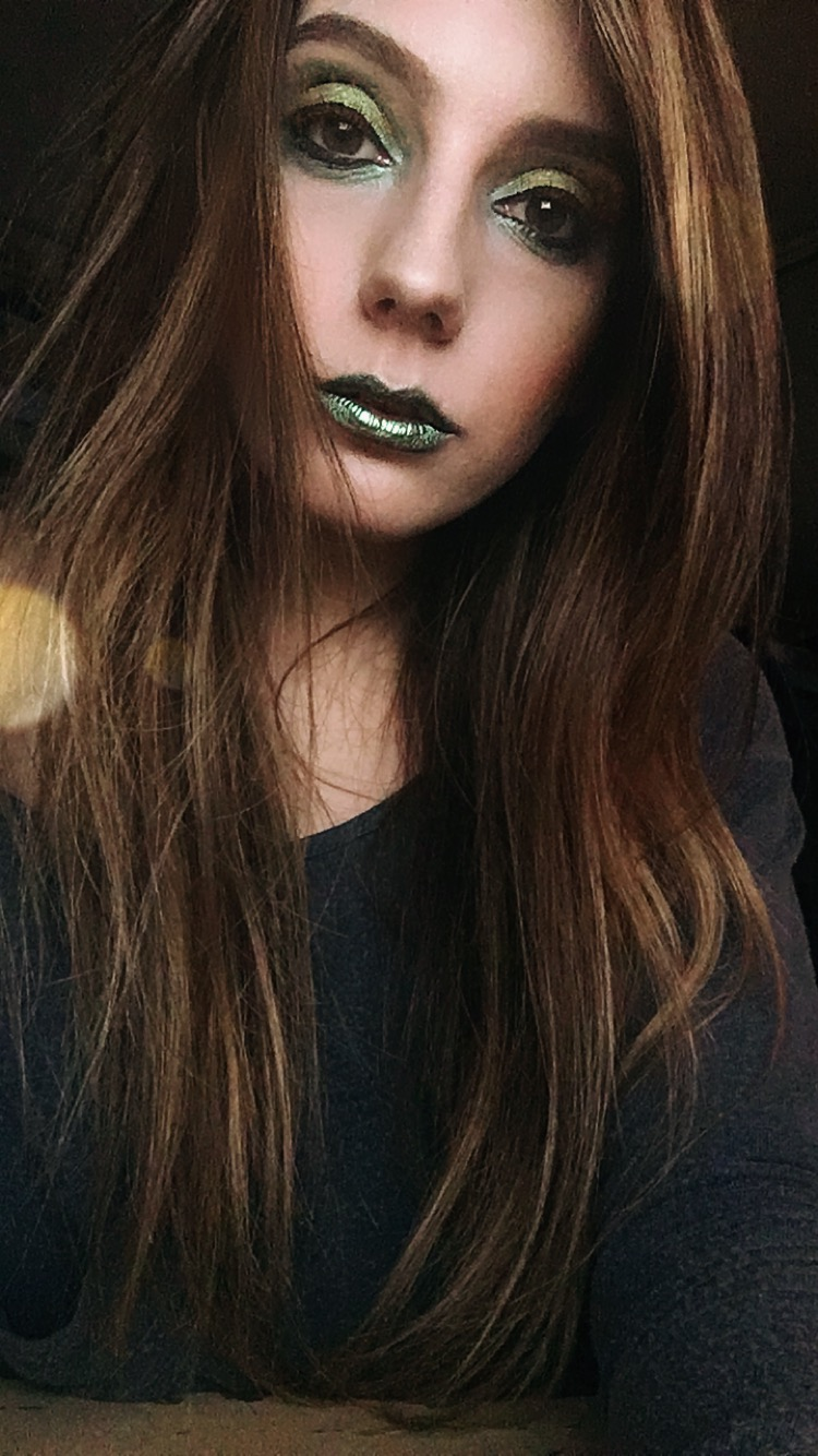 Makeup test for Poison Ivy