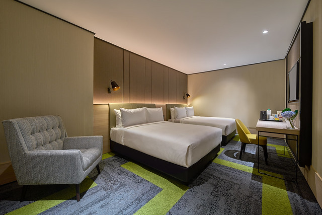 Aerotel KUL - Double Squared Room