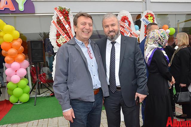 Ali Hancı, Alanya Pansiyoncular Odası Başkanı Hüseyin Değirmenci
