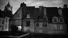 'Dole' - #Dole #france #Bw #blackandwhite #b&w #smartshots #architecture #dusk #samsung #city #urban #historical