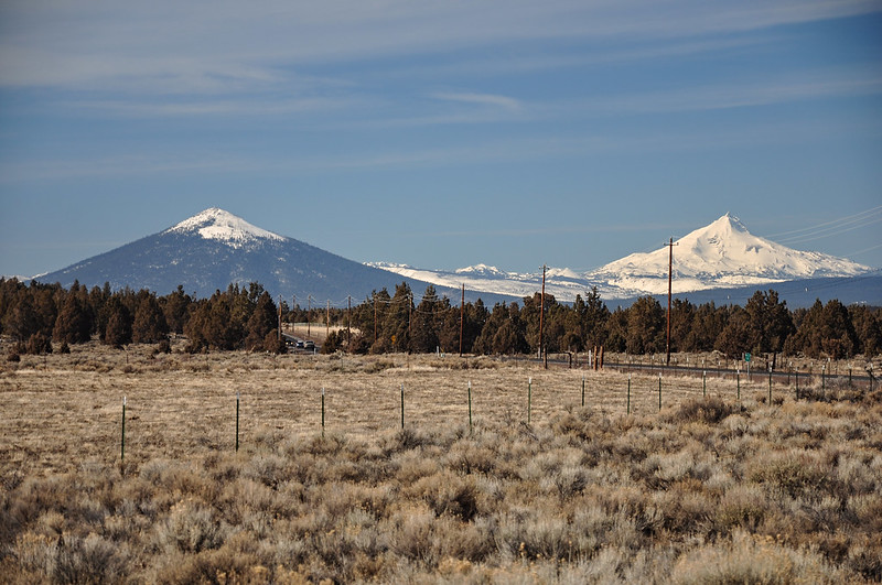 Black Butte and Mt. Jefferson