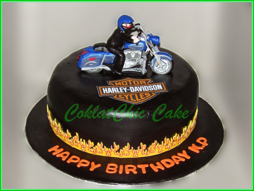 Cake Harley Davidson K.P  18 cm