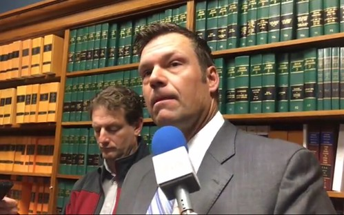 One of Kansas Secretary of State Kris Kobach's witnesses testified Tuesday in federal court that his research does not support Kobach's previous claims that millions of illegal votes cost President Donald Trump the popular vote. via bridgesfreezefirst
