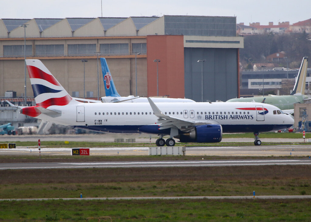 F-WWIV first Airbus A320 Neo British Airways.