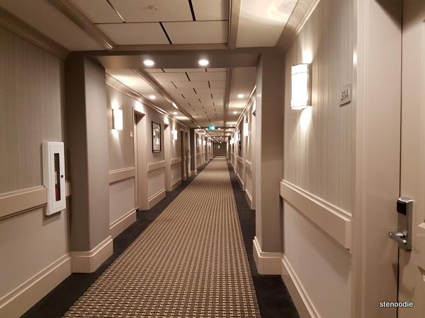 Chateau Nova Yellowknife Hotel hallway