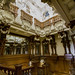 Small photo of Harlaxton Manor, The Cedar Staircase