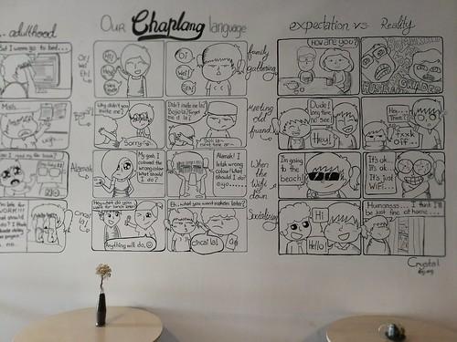 Comic Strip Wall