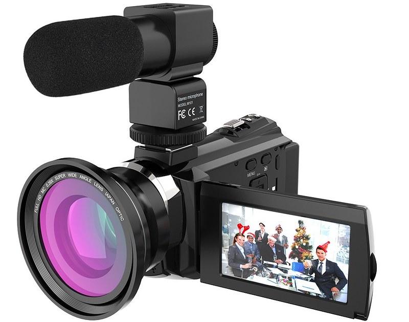 Andoer 4K ビデオカメラ (3)