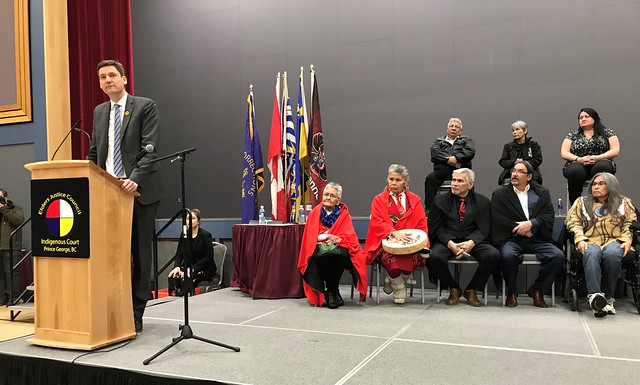 Prince George Indigenous Court Inauguration