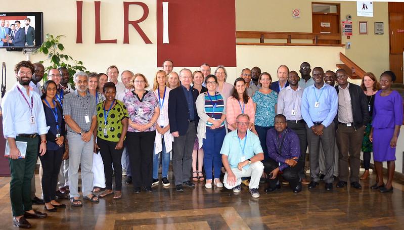 Group photo: Germany-ILRI partnership meeting