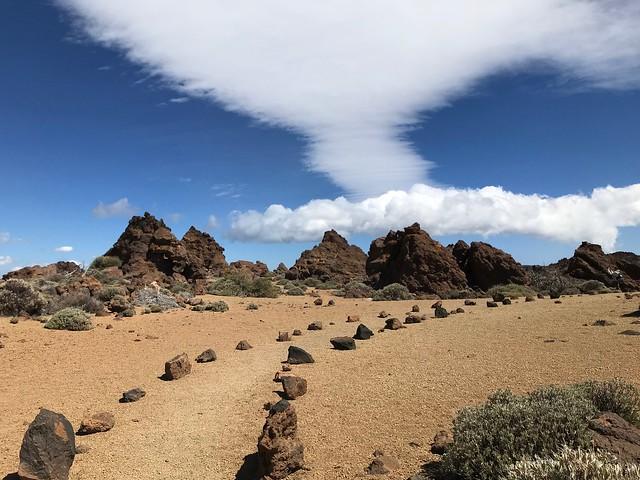 El Teide. Trail 30. Los Valles
