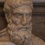 Busto di Epicuro (marmo II secolo d.C.) - Sala dei Filosofi - Musei Capitolini, Roma - https://www.flickr.com/people/94185526@N04/