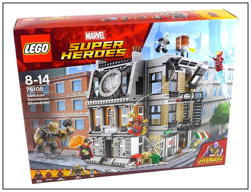 LEGO 2018 Marvel Super Heroes Avengers Infinity War box 13