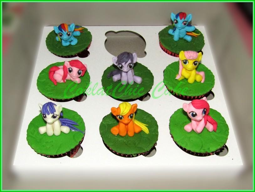 IMG_1322 cupcake My Little Pony
