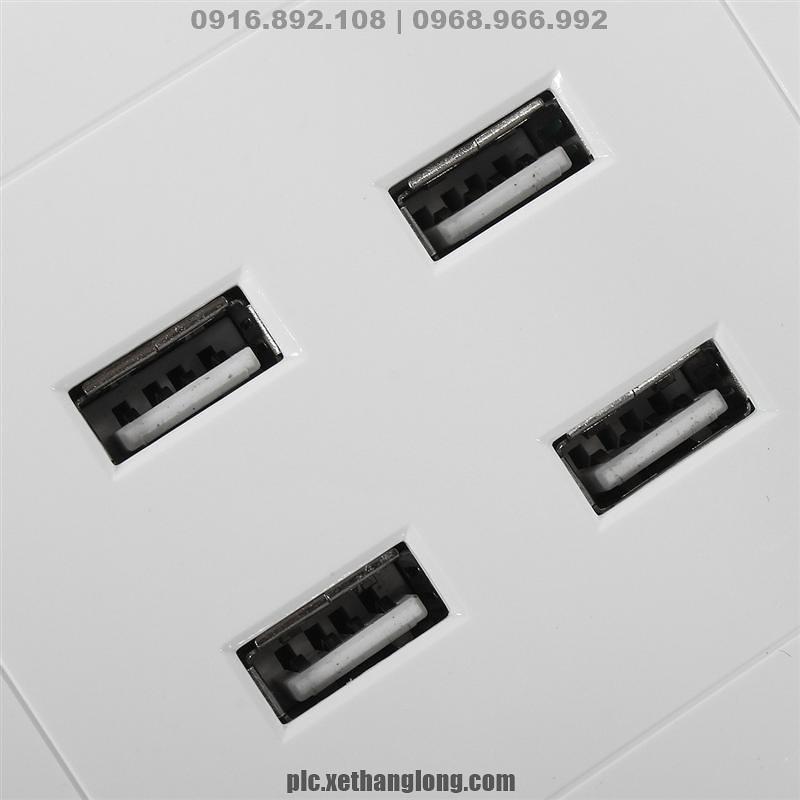 4 cổng sạc USB