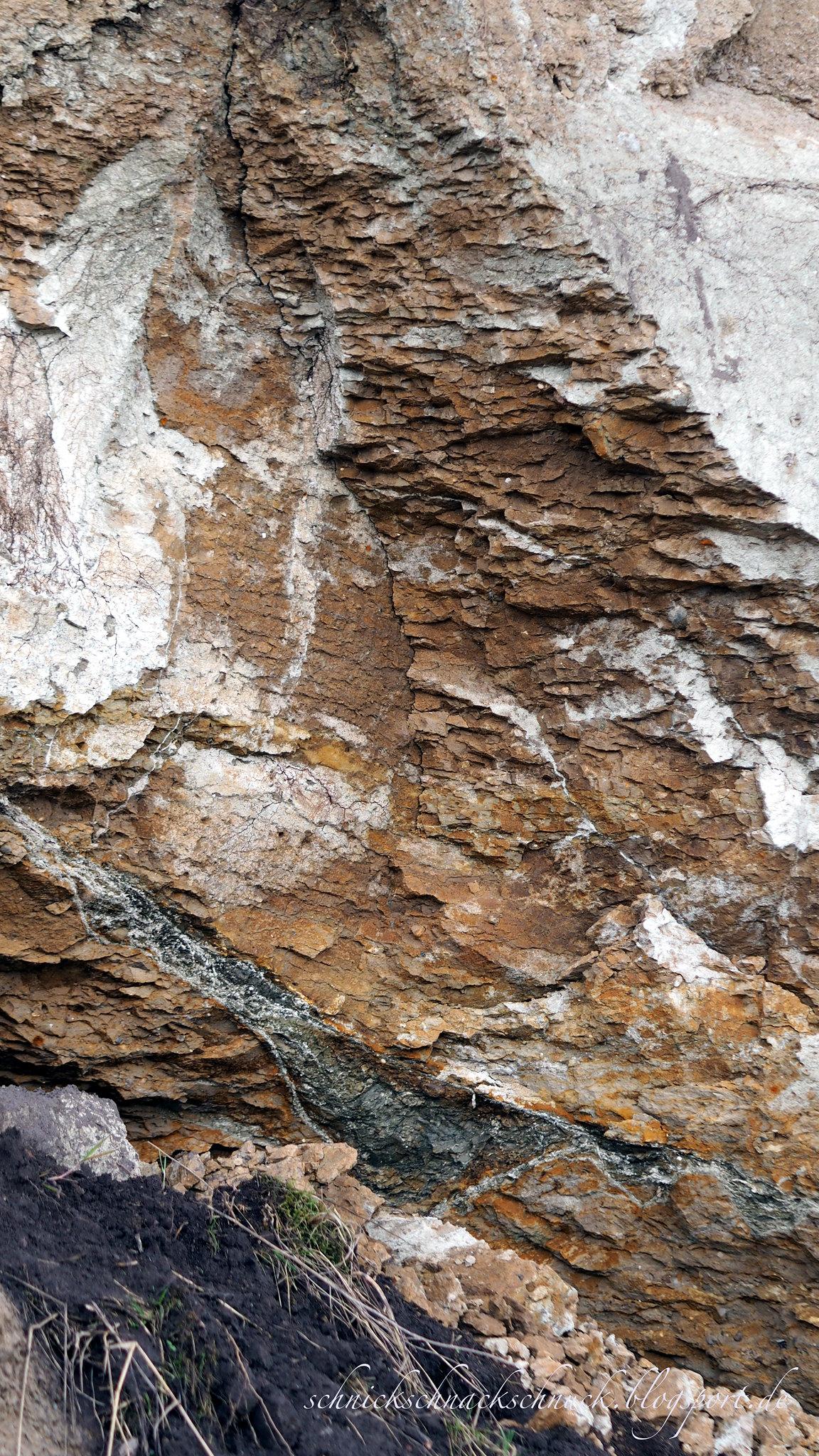 Felsen der Steilküste