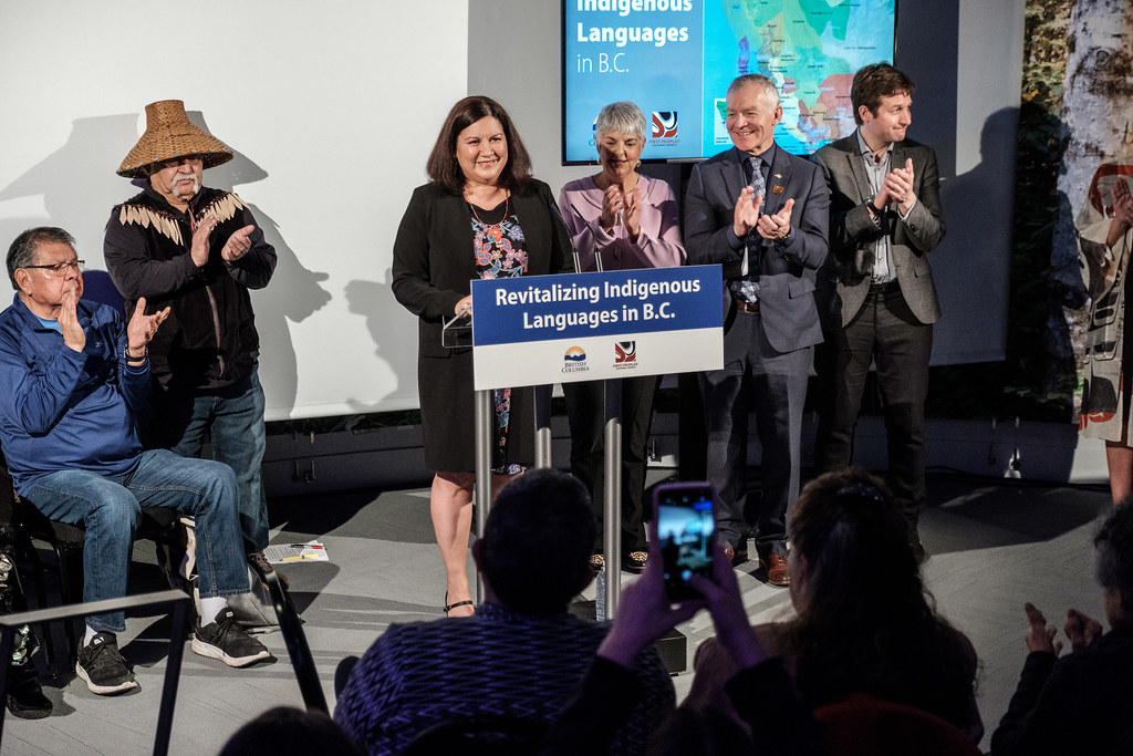 First Peoples' Cultural Council will work in partnership with First Nations communities to develop and implement revitalization plans for each of the living Indigenous languages in B.C., to reverse the disruption to Indigenous languages from Canada's history of colonization and residential schools.
