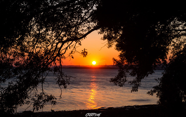 Coucher de soleil sur Brest (29)