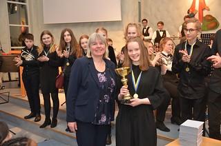Evelina Glänneskog - vinnare av grupp 2